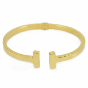 Gold-Plated-Sterling-Silver-Bangle-7-5-inches-NEW-bracelet-16-18g-2946