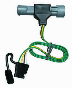 ford trailer tow harness 1987-1997 ford f-150 250 350 trailer hitch wiring kit ... ford trailer plug harness