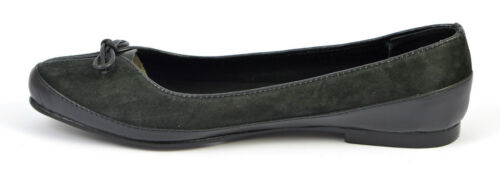 noir pour Chaussures verni Dolly ballerine mocassins daim escarpins femmes en qrIBIwE