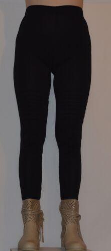 Womens Legging Ladies Plain Stretchy High zip  Full Length Leggings L2
