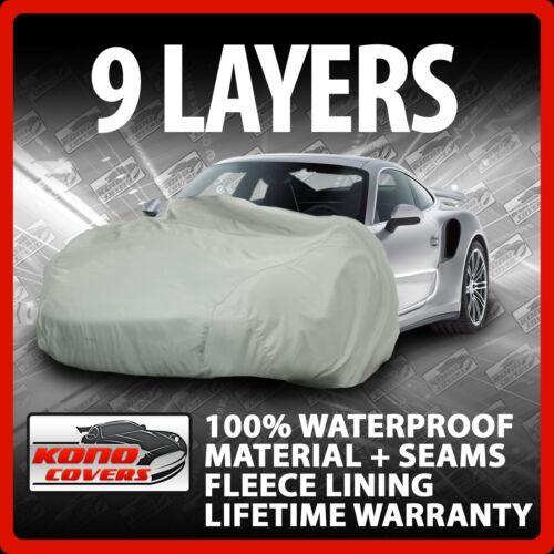 9 Layer Car Cover Indoor Outdoor Waterproof Breathable Layers Fleece Lining 6523