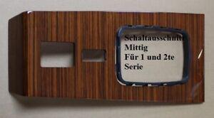SCHALTKONSOLE-MERCEDES-W123-ZEBRANO-HOLZ-MITTIG-1-amp-2-SERIE-NEU-11