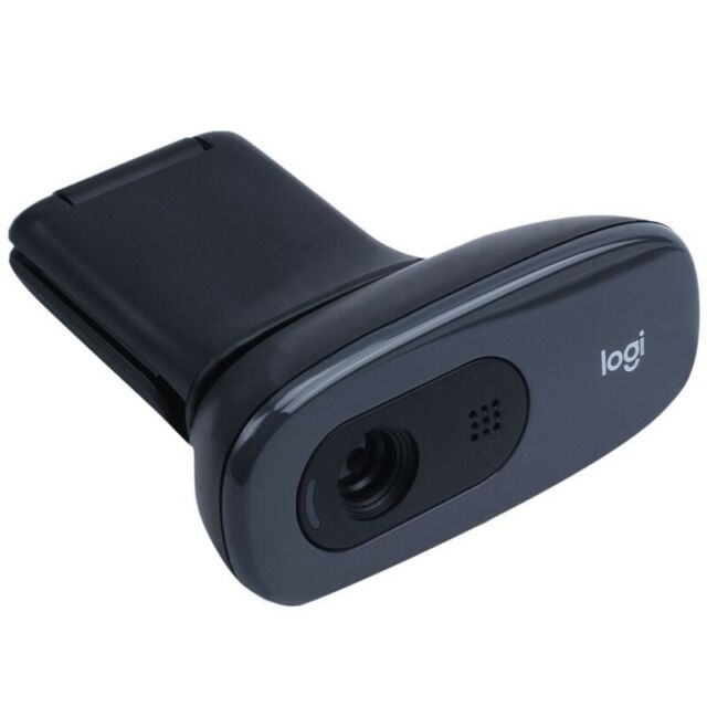Logitech C270 - USB-Webcam, schwarz M1O3