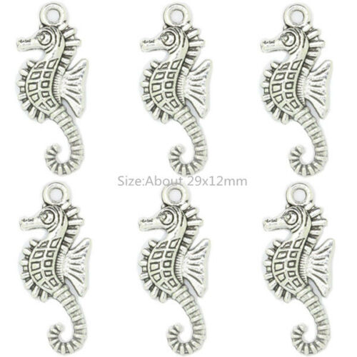 Tibetan Silver Animals Theme Charms Pendant Carfts For DIY Making Jewelry