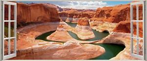Huge-3D-Panoramic-Grand-Canyon-Window-View-Wall-Stickers-Mural-294