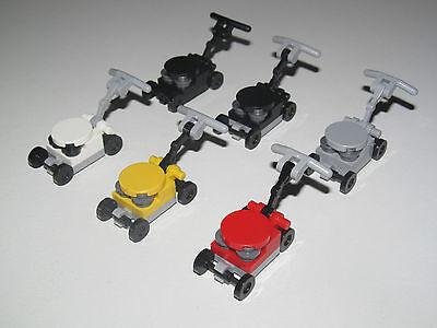 Colto Lego ® Accessoire Minifig Tondeuse De Jardin Pelouse Gazon Choose Color New