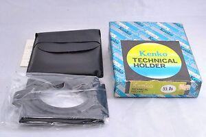 Kenko-55mm-Technical-Holder-50-0S-w-Case-in-Original-Box-from-Japan