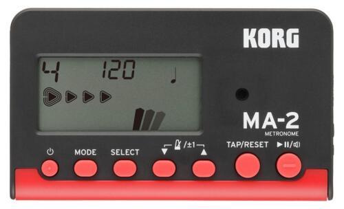 Korg MA-2 BKRD Metronom Orchester Musiker Timer Sound Modi Takt Rhythmus Display