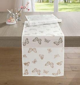 Tischläufer Schmetterling 40 x 140cm Läufer Tafel Tischdekoration Tischdecke