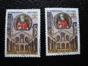 Vatican-Stamp-Yvert-and-Tellier-N-1083-x2-Obl-A28-Stamp