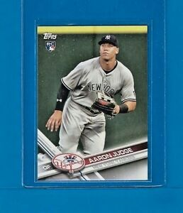 207597c8 AARON JUDGE RC 2017 Topps New York Yankees Factory Sealed Team Set ...