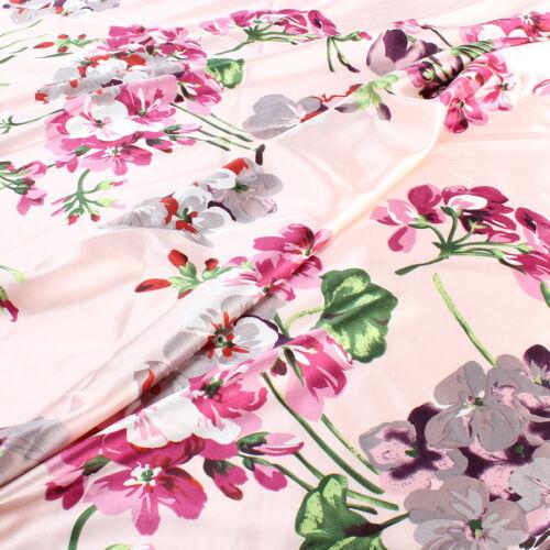 environ 0.91 m Micro Élastique Satin Tissu Crêpe Charmeuse Doux Robe de mariée Matériel 1 Yd