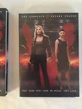 V: Season 2 (DVD, 2011, 2-Disc Set Includes unaired scenes for every episode)
