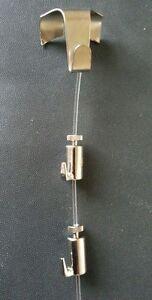 2-x-Picture-Rail-Hooks-Silver-with-Hanging-Kit-Maximum-10kg-2-self-locking-hooks