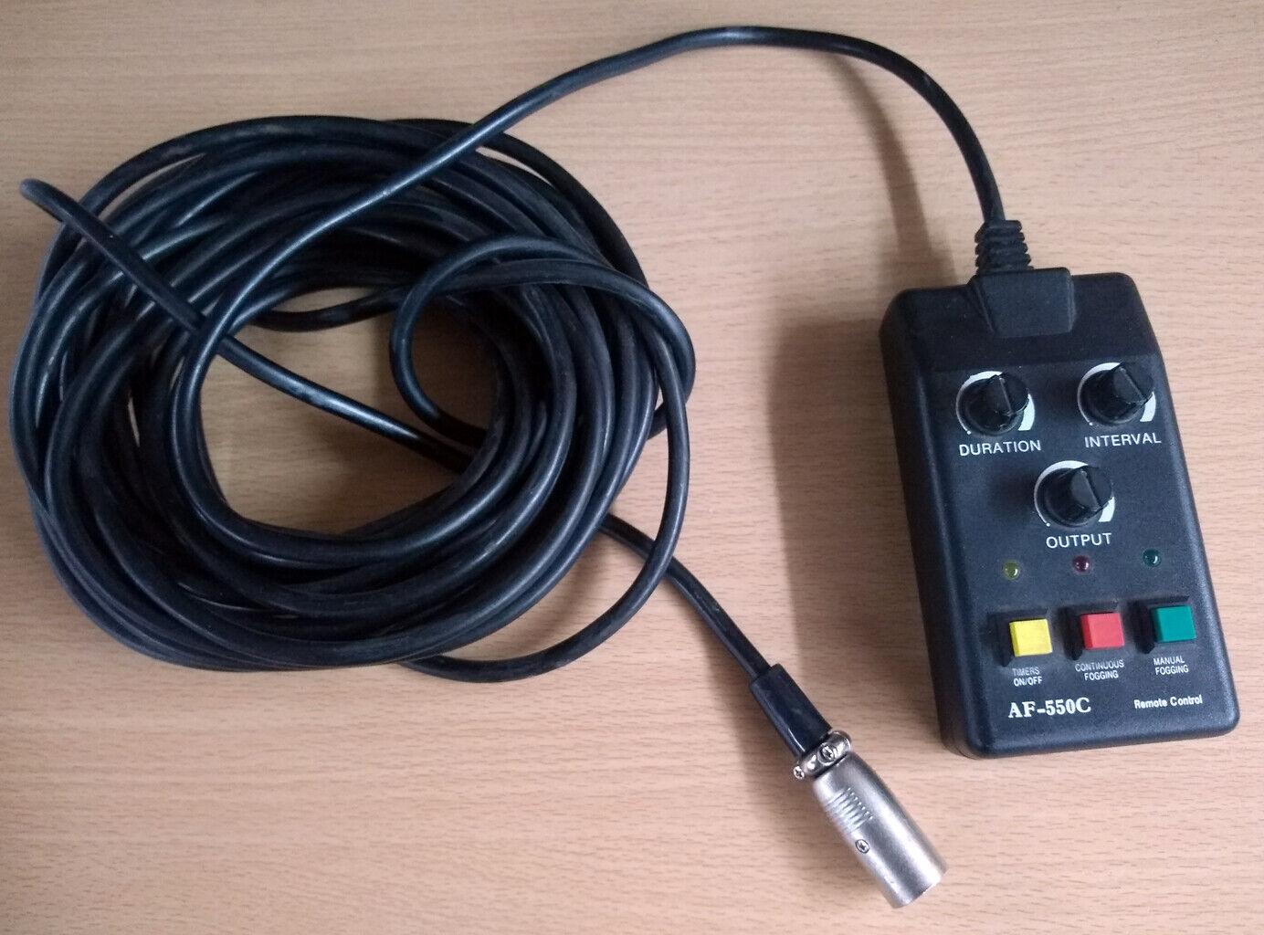 Used AF-550C 5 PIN Fogger Remote