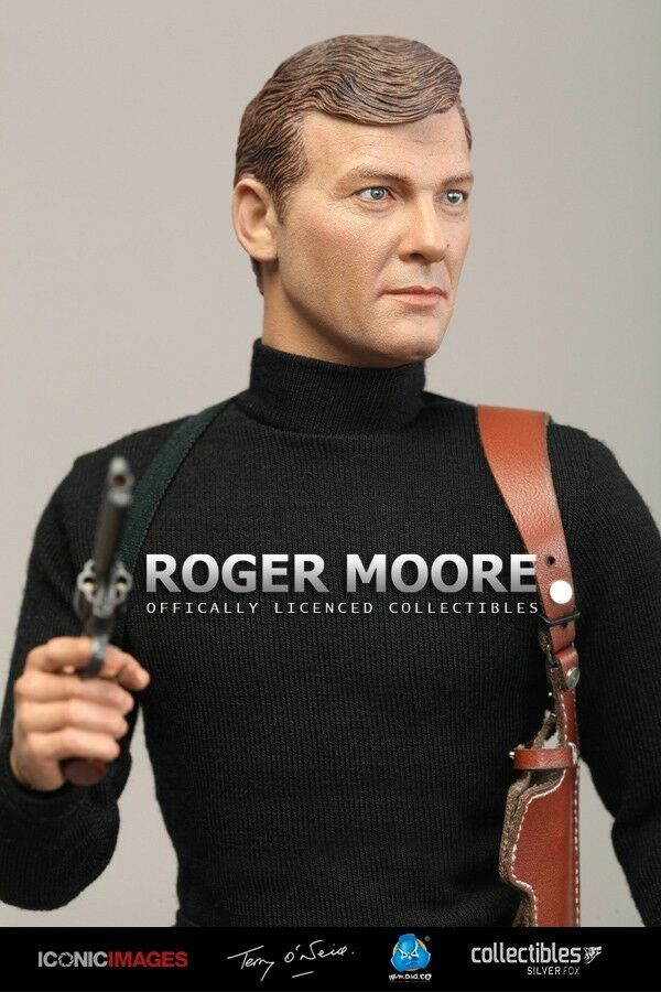 DID RM001 MI6 AGENTE 007 ROGER MOORE Officially Licensed 1/6 Figura