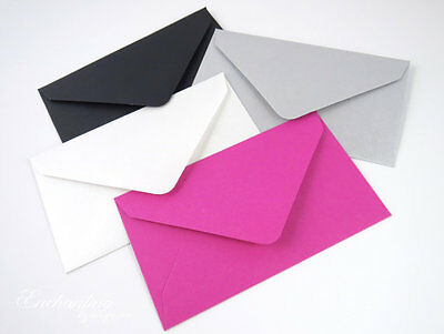 Colored Gift Card Small Metallic Mini Envelopes