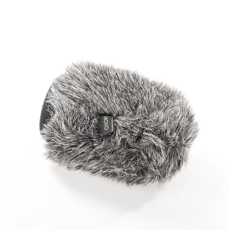 Movo WS-G100 Furry rígido parabrisas para micrófonos 18-23 mm mm mm de diámetro caa849