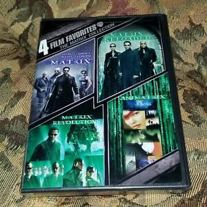 New-Sealed-DVD-4-Film-Favorites-The-Matrix-Collection