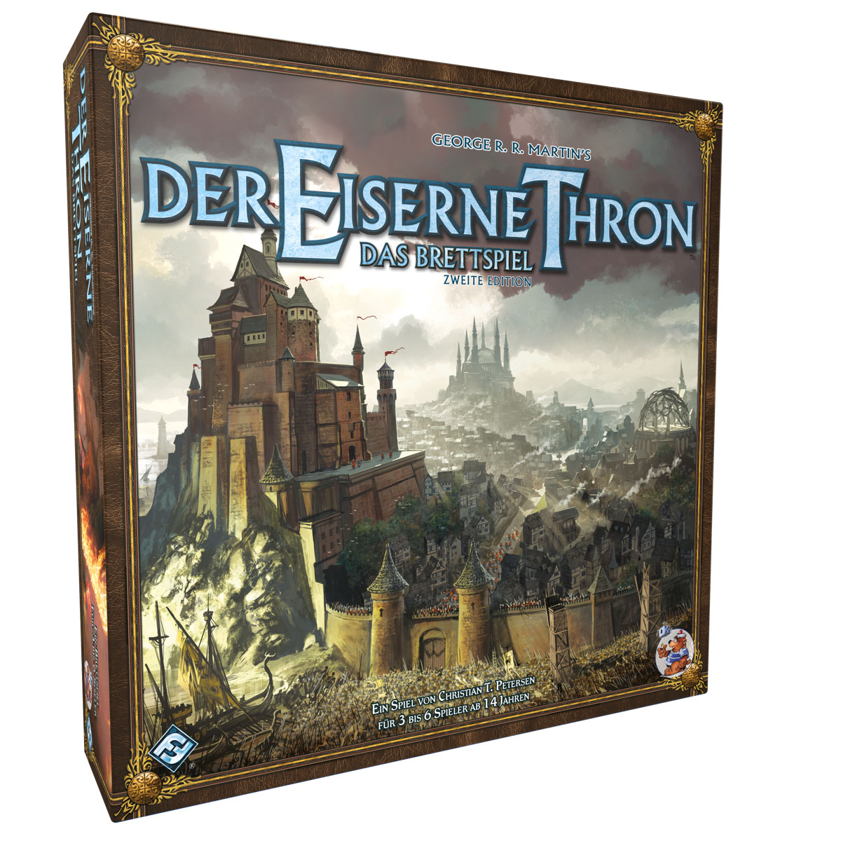 Der Der Der eiserne Thron Grundspiel Brettspiel Game of Thrones Deutsch 2. Edition e7b95b