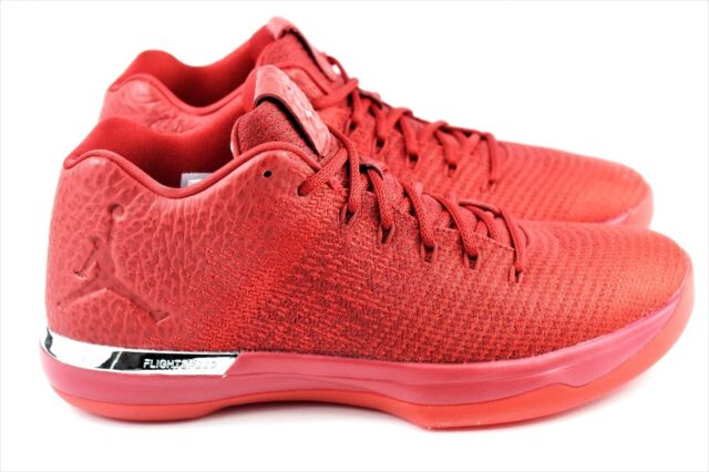 big sale 501a3 c2d57 Nike Air Jordan XXXI Low 31 Red to Toe Men Basketball Aj31 897564-601 10