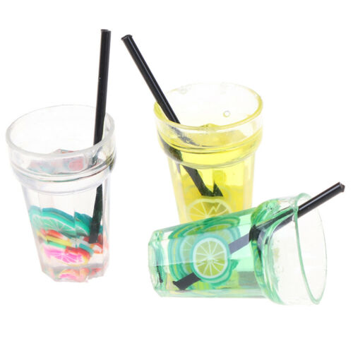 1:12 Scale cup drink for dollhouse miniature toy doll food kitchen accessories