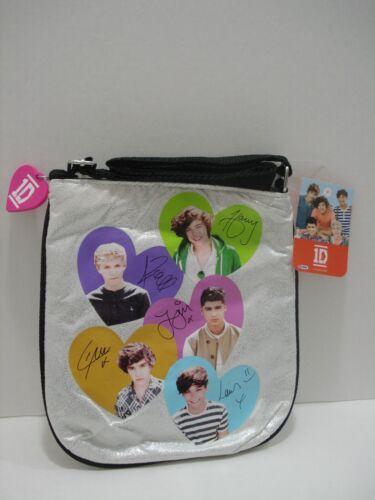 One Direction Metallic Girl Crossbody Bag Signature Niall Louis Harry Zayn Liam