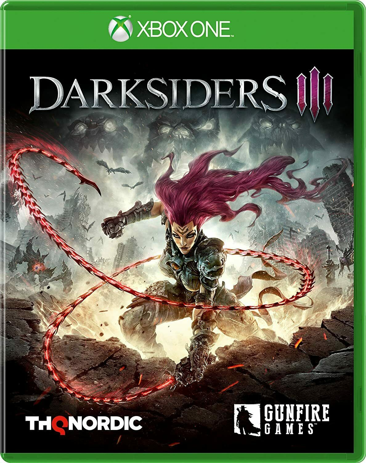 darksiders 3 & battle chasers nightwar xbox one pal new&sealed