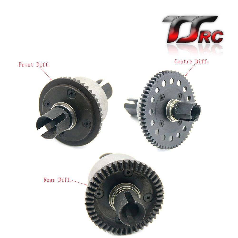 Nuova lista Metal completare diff gear gear gear set for Losi 5ive T  fino al 60% di sconto