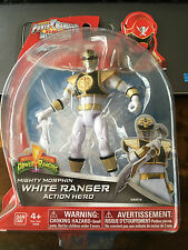 POWER Rangers Super Megaforce Tommy il WHITE Ranger Figura Mighty Morphin RARO
