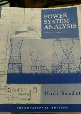 Power Systems Analysis Paperback By Hadi Saadat 2nd Internationa 9780071239554 9780071239554 Ebay