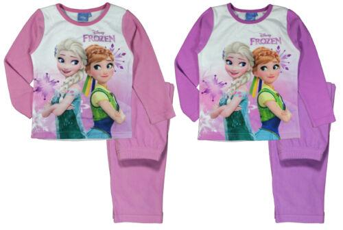 Mädchen Schlafanzug Disney Frozen 122 bis 152   Urlaub Ferien kuschelig Fleece
