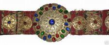 Antik Orientalische Silber Gürtel Turkman bukhara  jemod belt Silver Rarität ZNI
