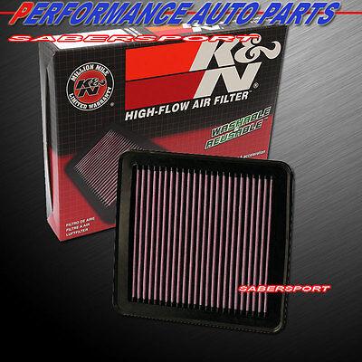 K/&N 33-2380 Hi-Flow Air Intake Washable Drop in Filter for 2010-2013 Kia Forte