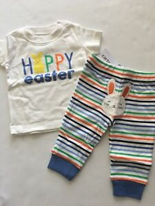 NEW Carter/'s Boys Easter Outfit Set Newborn 3 6 9 12 18 Months Some Bunny/'s Fav