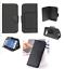 Custodia-UNIVERSALE-per-BRONDI-850-4G-Cover-LIBRO-STAND-magnetica-portafoglio miniatura 3