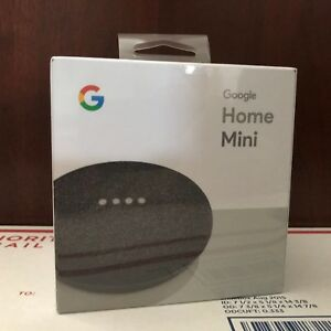 Google home mini smart small speaker charcoal brand for Google home mini
