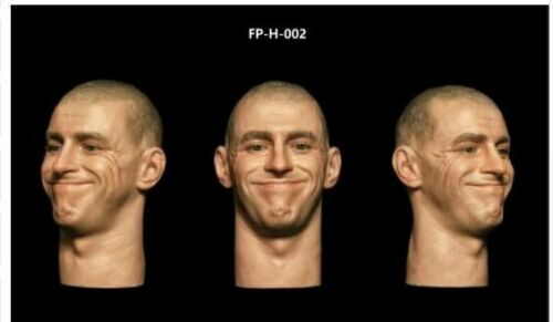 """1//6 FP-H-002 Soldier With Expression Head Sculpt Fit 12/"""" Male Action Figure Body"""