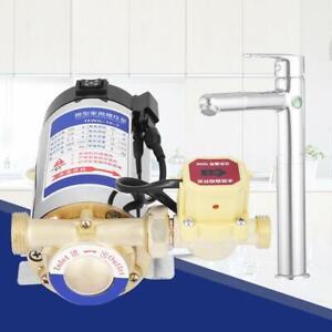 220V 100W Automatisch Edelstahl Selbstboost Pumpe Wasserpumpe für Leitungswasser