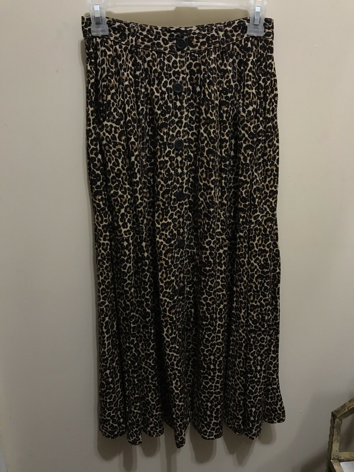 Original American Apparel Leopard Print Skirt
