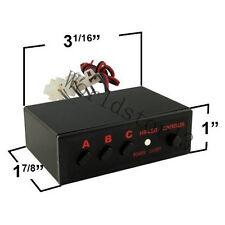 6 Ways LED Strobe Flash Light Lamp Emergency Flasher Flashing Controller Box 12V