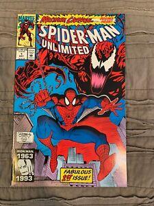Spider-Man-Unlimited-1-NM-Maximum-Carnage-Begins-1993-Marvel-comics