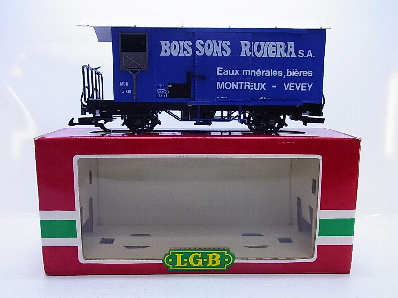 60505 LGB 4029 autori merci MOB GK 518 boissons Riviera Montreux Traccia G IN SCATOLA ORIGINALE