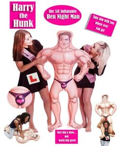 Image Is Loading Harry The Hunk 5 Ft Inflatable Up
