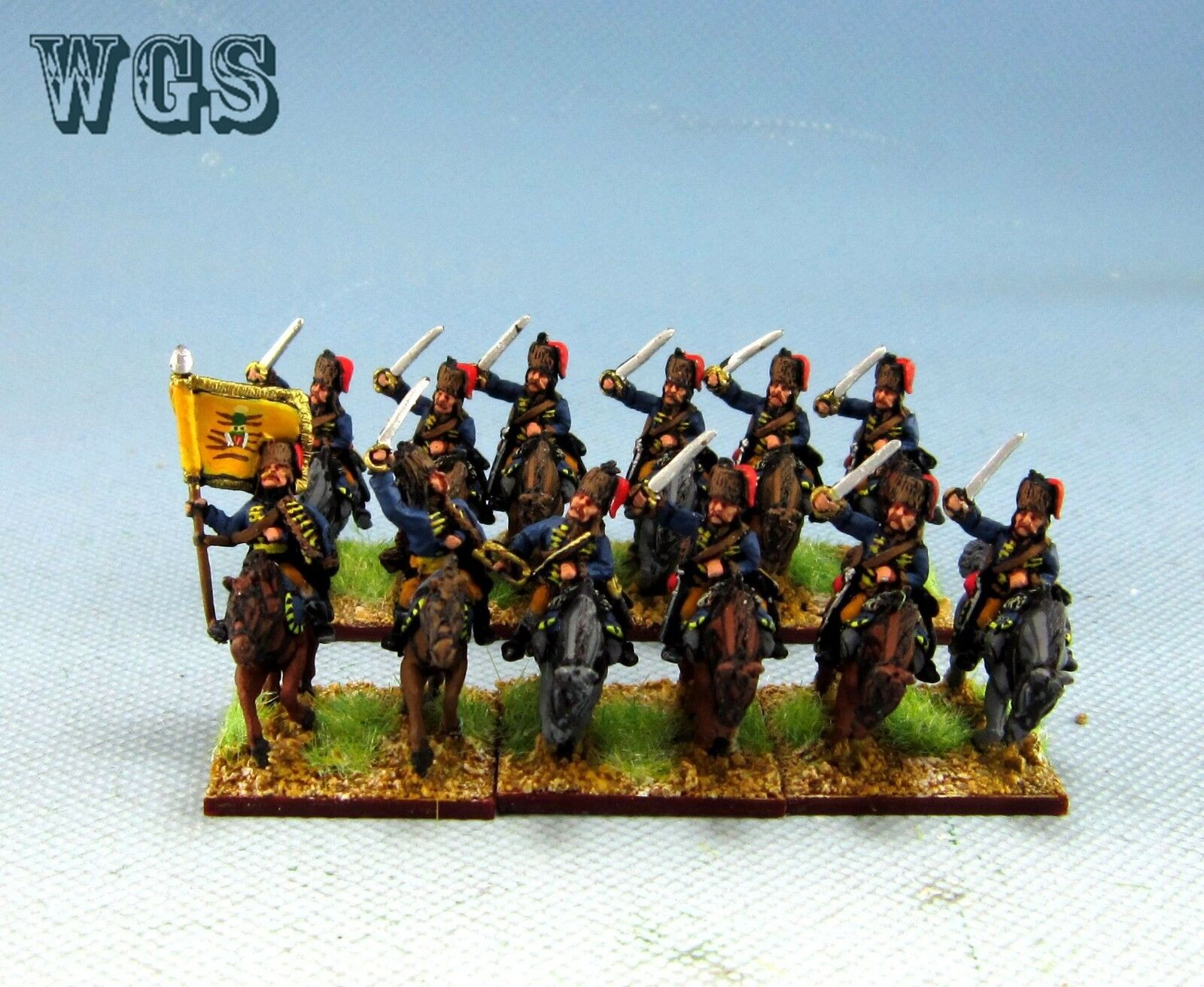 15mm WGS Seven Years War SYW painted Austrian Kaiser Franz Hussars AB2