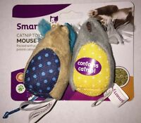 Smartykat Catnip Toys  Mouse Mates Free Shipping