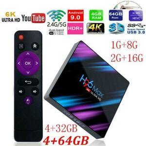 H96-Max-3318-Smart-TV-Box-4-64G-Android-9-0-WiFi-Quad-Core-1080P-4K-Media-Player