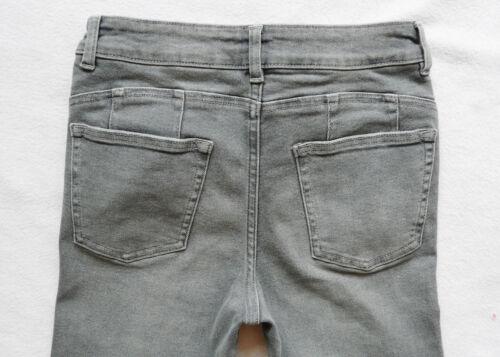mince gris haute jambe Bnwt jean taille femme Figure 35 pour Next R 6 0wwY4vq8