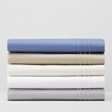 Hudson Park 800 TC Egyptian Cotton STANDARD Sham DEFT BLUE A428
