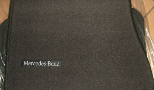 Mercedes Benz Original Velours Fussmatten 4tlg S Klasse W220 LHD Anthrazit Neu